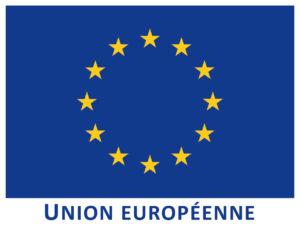Union Européenne, partenaire CBL Réagir, association proposant des services à domicile et en entreprise